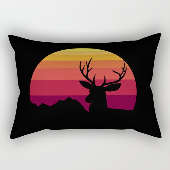 wild sunset Rectangular Pillow