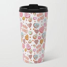 Black Hearts Travel Mug