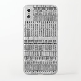 Inuit Tattoo Clear iPhone Case