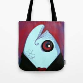 DapperFish Tote Bag