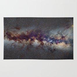 The Milky Way: from Scorpio, Antares and Sagitarius to Scutum and Cygnus Rug