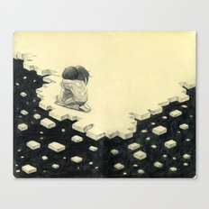 Let's Pretend Everything's Okay Canvas Print