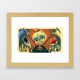 Life 4 Death - Dead 4 Life Framed Art Print