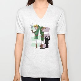 The Fairy and The Imp Unisex V-Neck