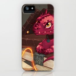 The Dragon Library iPhone Case