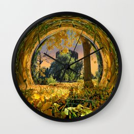 Dream Castle Fantasy Wall Clock