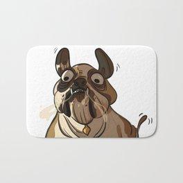 Leone the British bulldog Bath Mat