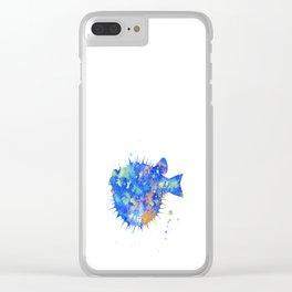 Blowfish Clear iPhone Case