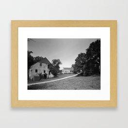 Mill Tract Farm, PA 1958 Framed Art Print