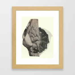 cut// Framed Art Print