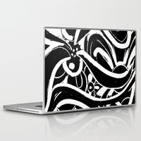 asia Laptop & iPad Skins featuring Hedgerow Asia by Aprille Broomhead
