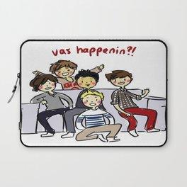 One Direction 'Vas Happenin' Cartoon Laptop Sleeve