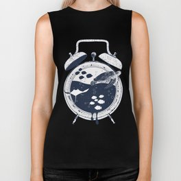Running Out of Time Biker Tank