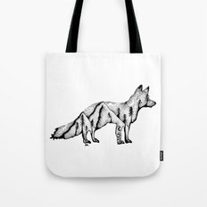 Wandering Fox, Hidden Scene, Nature, Mountains and Forest, Ocean, Wanderlust, Travel Tote Bag
