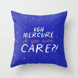 UGH mercury!! Throw Pillow