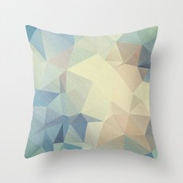 Abstract polygonal 2 Throw Pillow