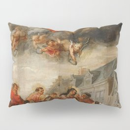 Classic painting of the saints Pillow Sham