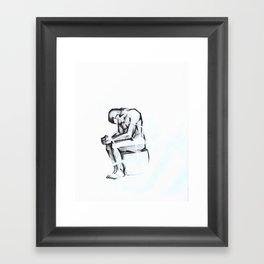 2001 - Tied (High Res) Framed Art Print