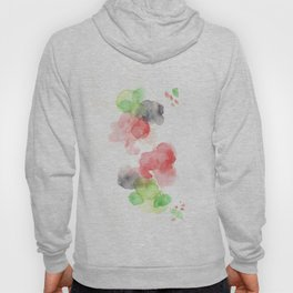 170714 Abstract Watercolour Play 15 |Modern Watercolor Art | Abstract Watercolors Hoody