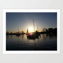 Prepare to Set Sail Art Print