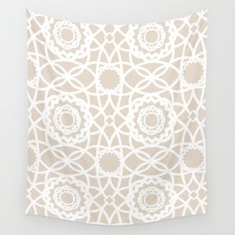 Palm Springs Macrame Lattice Lace Wall Tapestry