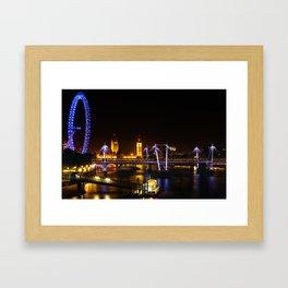 The Thames View Framed Art Print