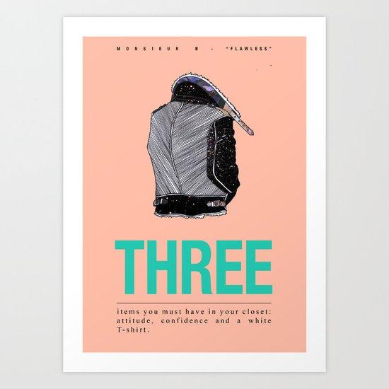 Flawless V Art Print