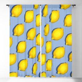 Yellow Lemons Blackout Curtain