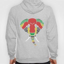 Colourful Elephant Hoody