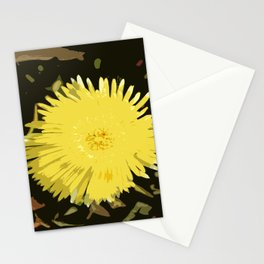 Iceplant Abstract Stationery Cards