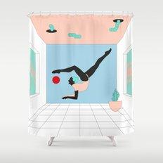 Escorpión Shower Curtain