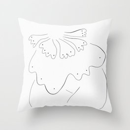 Woman Spirit 003 Throw Pillow