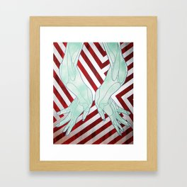 HandsyPants Framed Art Print