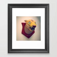 Taxidermy 1: Predator Framed Art Print