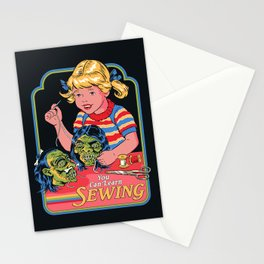 You Can Learn Sewing Stationery Cards