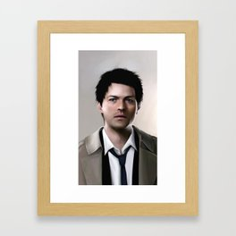 An angel of the Lord - Castiel Supernatural Framed Art Print