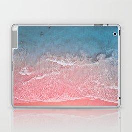 Bahamas pink blue Laptop & iPad Skin