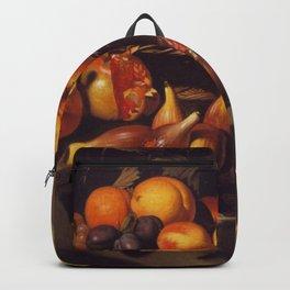 "Michelangelo Merisi da Caravaggio ""Still Life with Fruit"" Backpack"