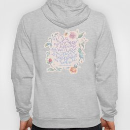 My Grace is Sufficient - 2 Corinthians 12:9 / rose pink Hoody