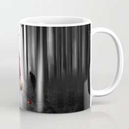 Little Red Riding Hood and the wolf Coffee Mug