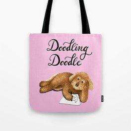 Doodling Doodle (Pink) Tote Bag