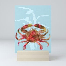 Mystical Crab Mini Art Print
