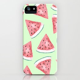 Watermelon Press iPhone Case