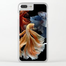 BEAUTIFUL BETA FISH Clear iPhone Case
