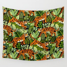 Bengal Tiger Jungle Wall Tapestry