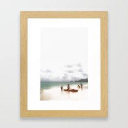 Mer Sea Framed Art Print
