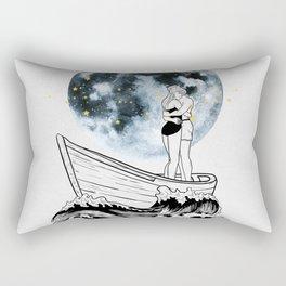 Night above the moon. Rectangular Pillow