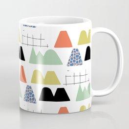 Abstract Mountain Coffee Mug