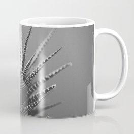 Zebra Haworthia (Stripes in Black and White) Coffee Mug
