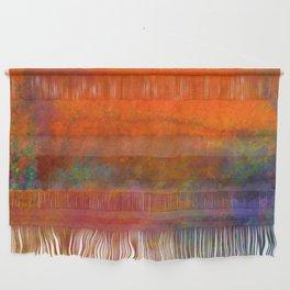 Orange Study #1 Digital Painting Wall Hanging